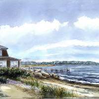 East Beach Art Prints & Posters by Paul Gardner