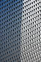 Grey Security Shutter with Shadow