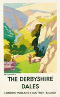 'The Derbyshire Dales', poster advertising London