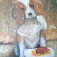 simpatia di un cane Art Prints & Posters by antonio cariola