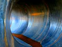 Inside of Pipe