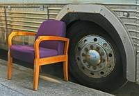Bus and Chair