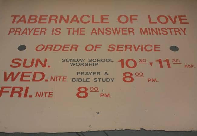 Tabernacle Church Hours