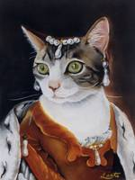 Tabby Cat Princess