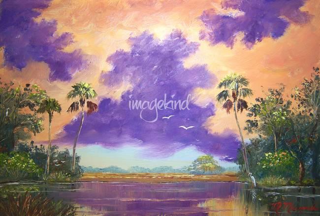 Florida Purple Clouds