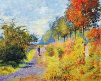 The Sheltered Pathway sur les traces de Monet
