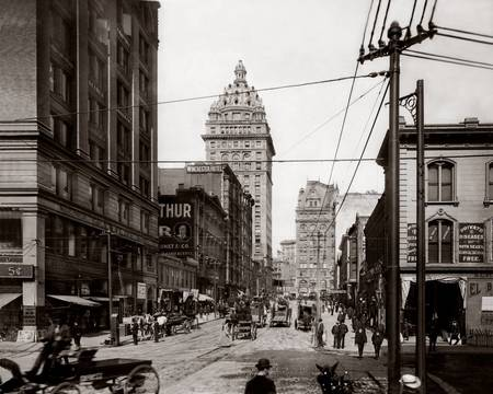 Third and Mission, San Francisco 1905