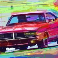 """1969 Dodge Charger Hemi"" by DavidLloydGlover"