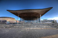 Welsh Assembly Building Y Senedd