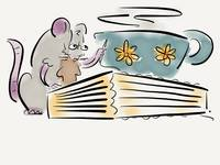 Mice like to fix books