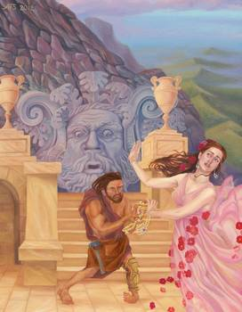 Hephaestus And Aphrodite Beauty And The Beast By