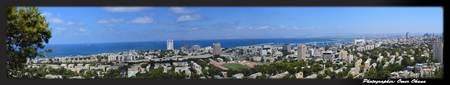 Haifa city panorama