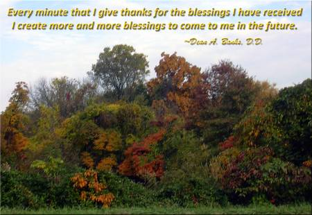 Creating More Blessings by Dean A. Banks, D.D.