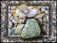 Pebbles and Rocks by Giorgetta Bell McRee