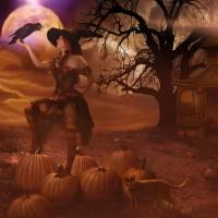 Autumn's Witch by Ran Valerhon