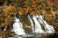 Autumn At Rock Island's Twin Falls