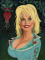 Portrait of Dolly Parton