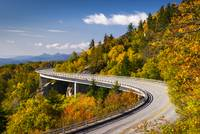 Blue Ridge Parkway Linn Cove Viaduct - North Carol