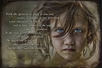 Les Misérables Quote Teach the Ignorant 1 Cosette