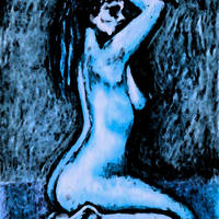 Blue Nude Sizzle by Aarron Laidig