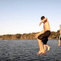 Three Boys Jump by Barbara Wilford Gentry