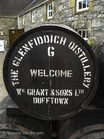 Scotland Whisky Tour - Glenfiddich Barrel