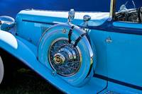 1930 Cord L21 Side Mount Detail