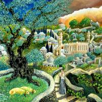 """Hebron sheep"" by Nachshonart"