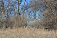 Small Old Grain Bin