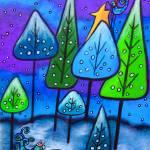 Winter Celebration III by Juli Cady Ryan