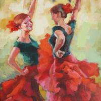 """YOUNG DANCERS"" by lapintura"
