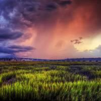 Fire and Rain | Hilton Head Photography by Jim Crotty