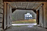 Farm House from Tobacco Barn, Cataloochee NC by Joe Gemignani