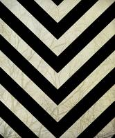Bold - Black and White Chevron Design