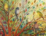 Waiting in a Rainbow Tree by Jennifer Lommers