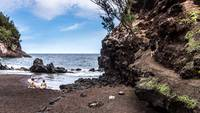 Secret Red Sand Beach - Hana, Maui