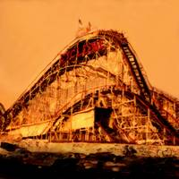"Coney Island, Cyclone ""Roller Coaster Ride"" by Joe Gemignani"