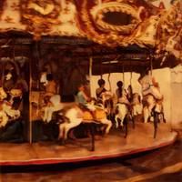 Coney Island, The Carousel by Joe Gemignani