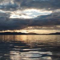 Sunset over Kuiu Island Art Prints & Posters by Ute Jefferis