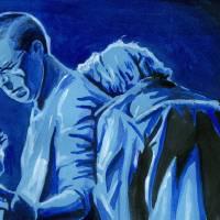 """""""Blue Adam Bono"""" by KellyEddington"""