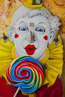 Clown game and sucker