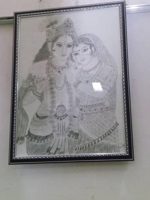 Radhekrishna Indian God Couple Symbol Of Love By Milan Mishra