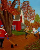 Autumn Street Hockey