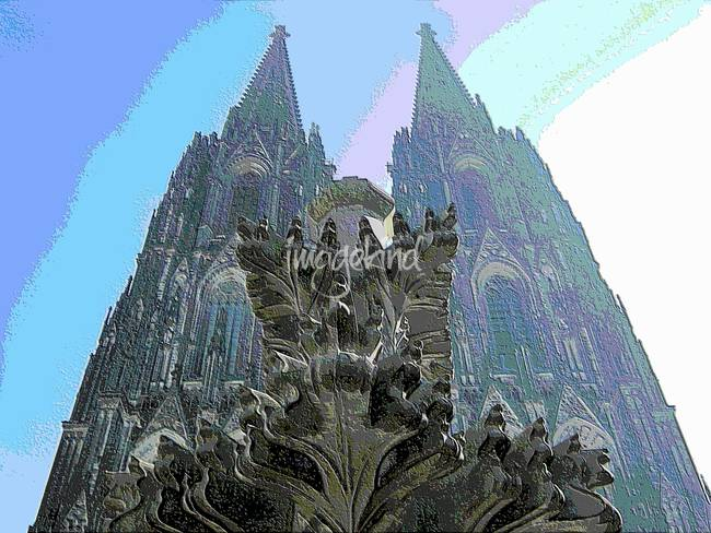 Cologne Cathedral )Kölner Dom(