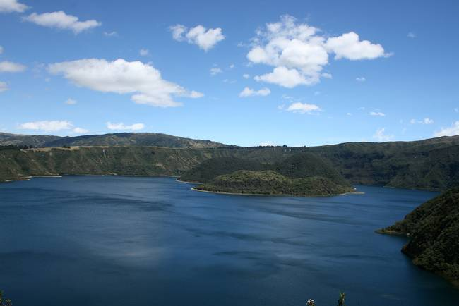 The Crater Lake Quicocha