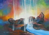 Foundations of the Deep ~ Genesis 7:11 by KIM KLOECKER