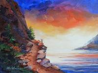 On the Edge of Glory ~ Habakkuk 2:14 by KIM KLOECKER
