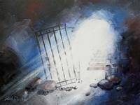 I Am Free ~ Isaiah 45:2-3 by KIM KLOECKER