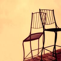 Tall Chair Shadow#1 by Joe Gemignani