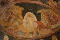 The Anastasis fresco in Chora Church, Turkey